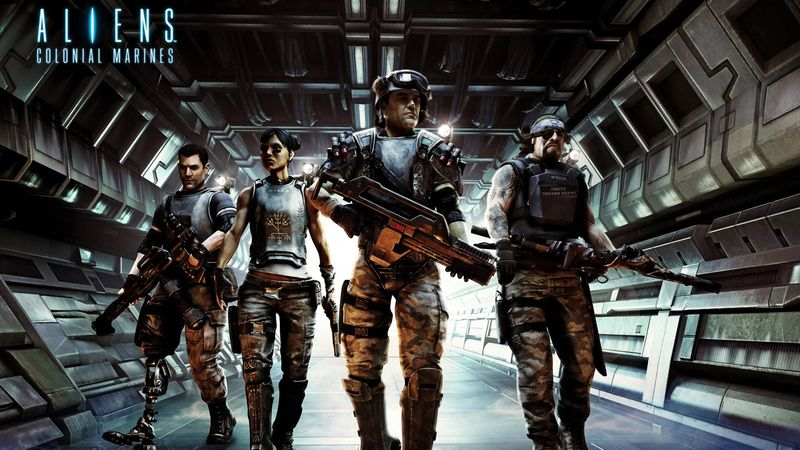 Aliens Colonial Marines -- Story