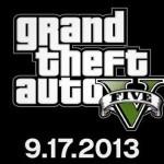 GTA V : נדחה. ישוחרר ב- 17 לספטמבר 2013