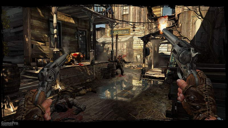 call-of-juarez-gunslinger Gameplay revolver