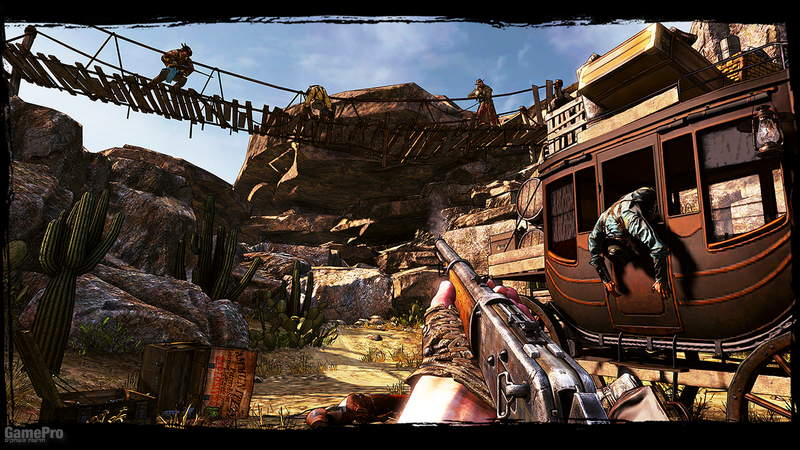 call-of-juarez-gunslinger Gameplay