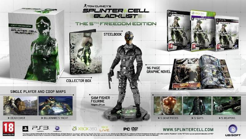 Splinter Cell Blacklist The 5th Freedom Edition