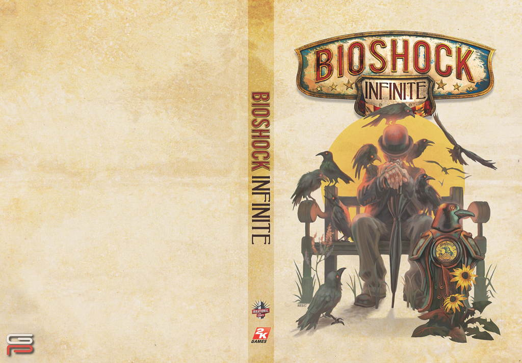 BioShock Infinite alternate cover 05
