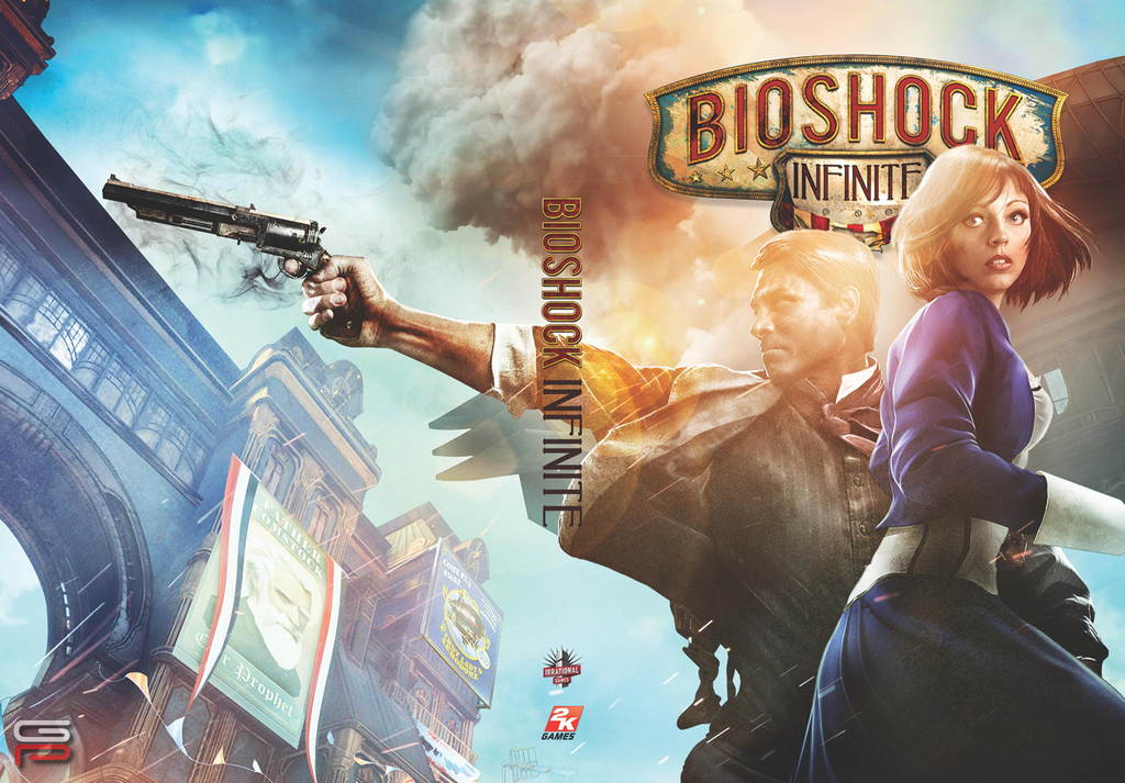 BioShock Infinite alternate cover 08