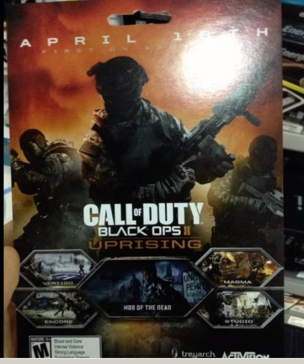 "Black Ops 2 ""Uprising"" DLC"