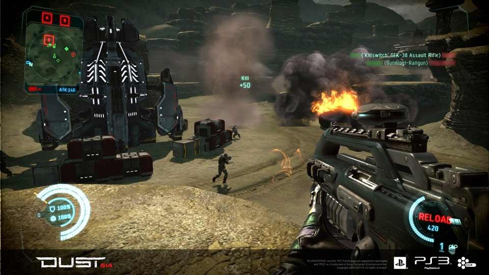 DUST-514-gameplay