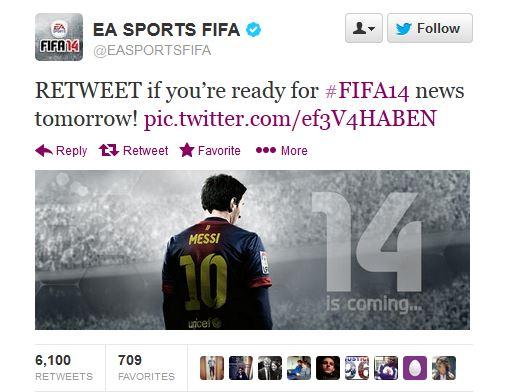 EA SPORT FIFA 14 NEWS