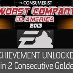 EA היא החברה הגרועה ביותר באמריקה לשנת 2013, שנה שניה ברציפות