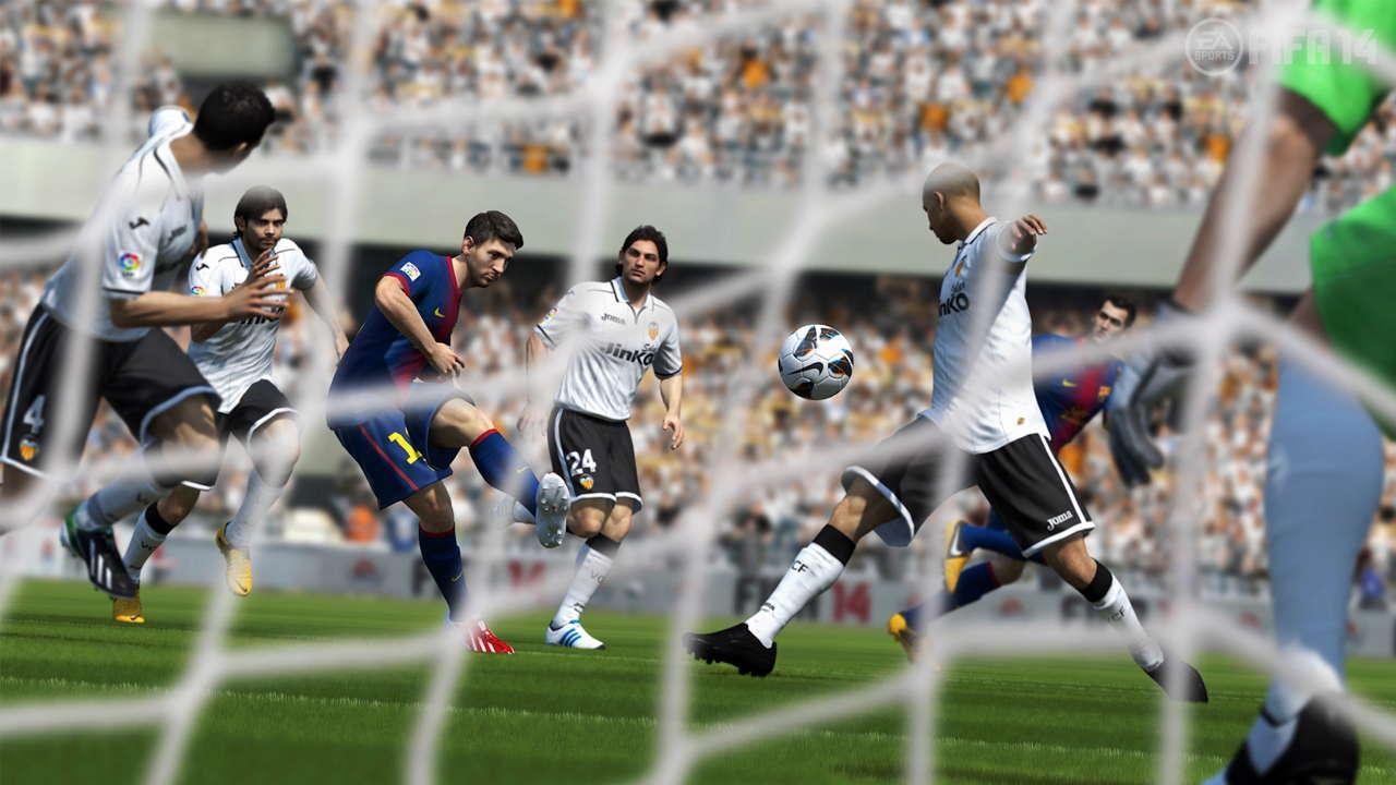 FIFA 14 חשיפה תמונות ראשונות מסי פיפא