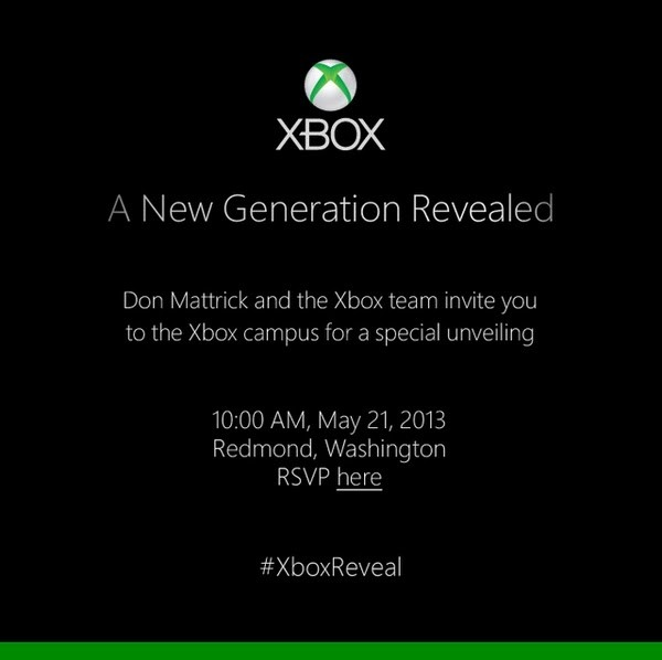 The Next Xbox Will Be Revealed On May 21