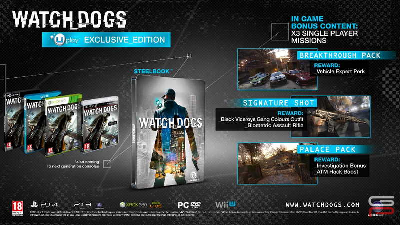 Watch Dogs Exclusive Edition