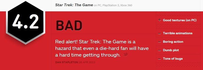 star trek ign review