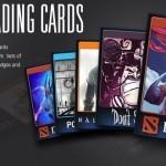 סטים משיקה שירות חדש בשם Trading Cards