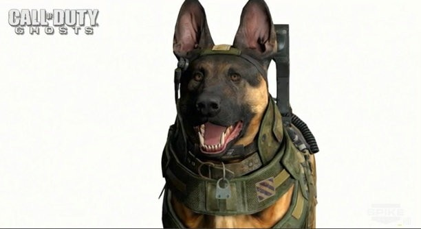 CALL OF DUTY DOGS