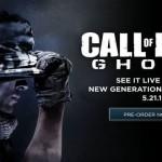 Call of Duty: Ghosts הוכרז רשמית לדור הבא!