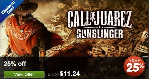 Call of Juarez Gunslinger SALE