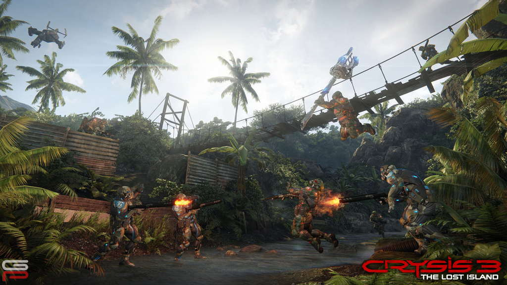 Crysis 3 The Lost Island חבילת מפות