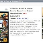 GTA V למחשב האישי (PC) זמין לרכישה ב-2 חנויות בגרמניה