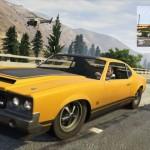 GTA V- מרדפים, גניבת מכוניות וצלילה [תמונות חדשות]