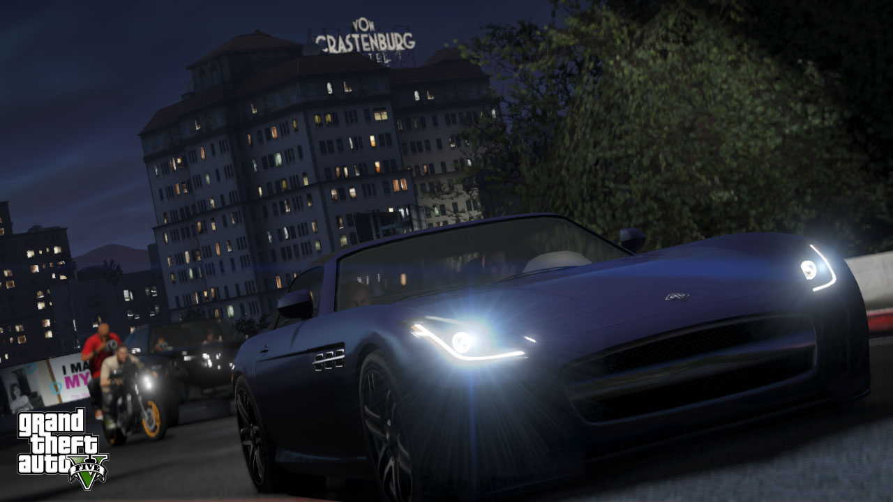 New GTA V screens highlight heists, car chases  01