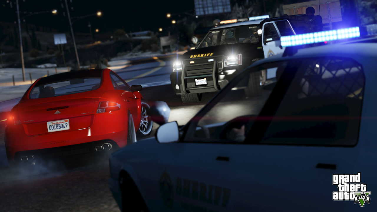 New GTA V screens highlight heists, car chases  04