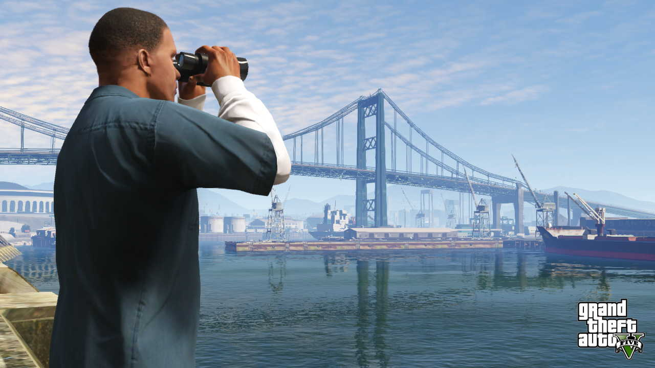 New GTA V screens highlight heists, car chases  05