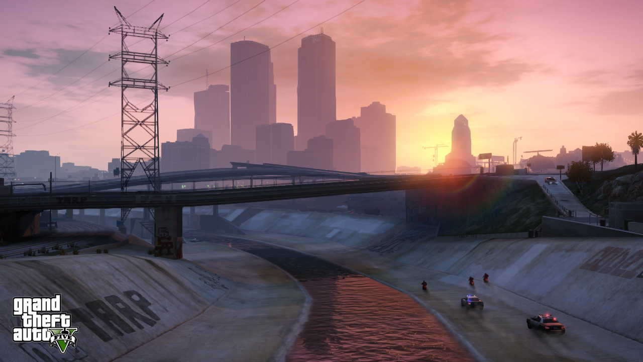 New GTA V screens highlight heists, car chases  06