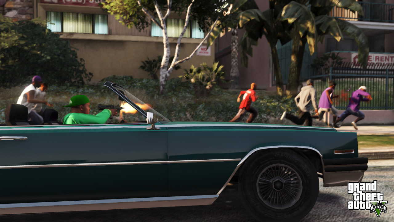 New GTA V screens highlight heists, car chases  07