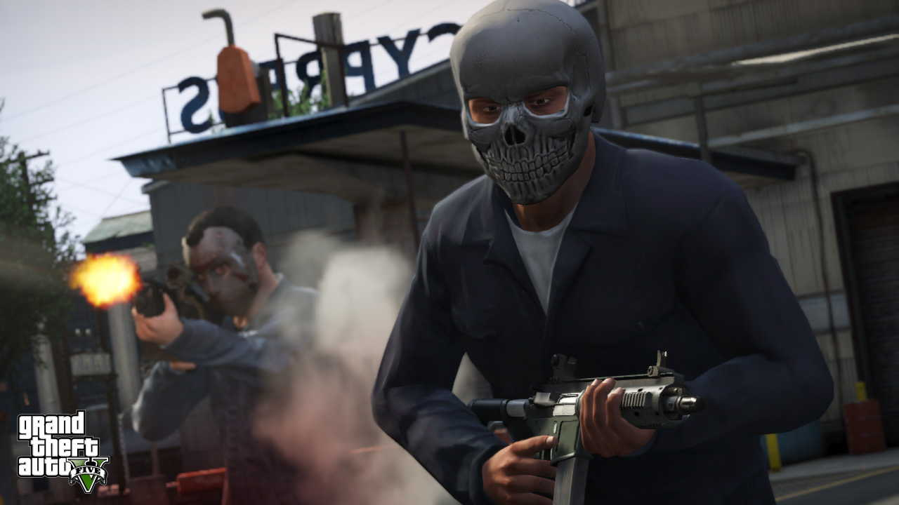 New GTA V screens highlight heists, car chases  10
