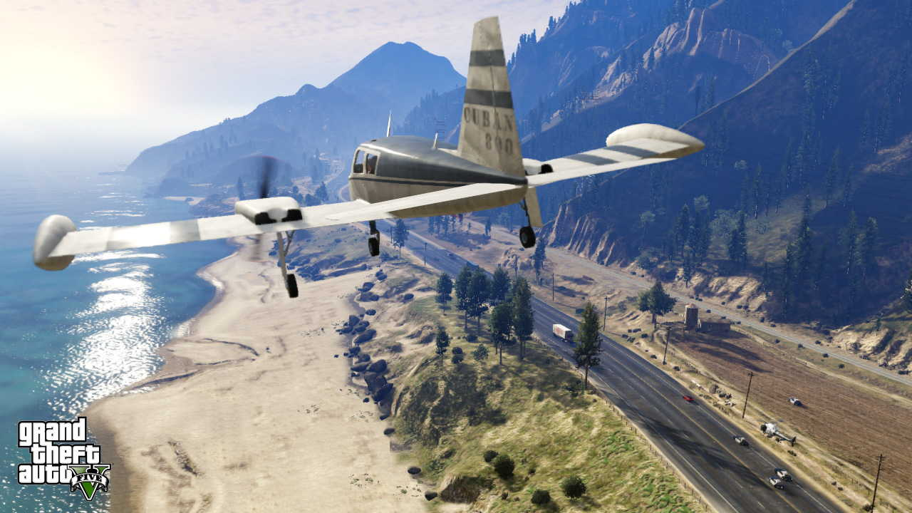 New GTA V screens highlight heists, car chases  12