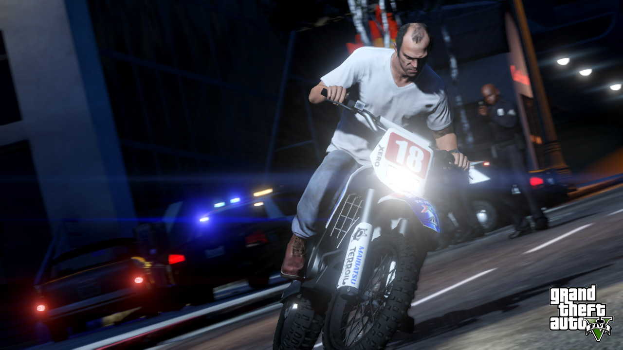 New GTA V screens highlight heists, car chases  14