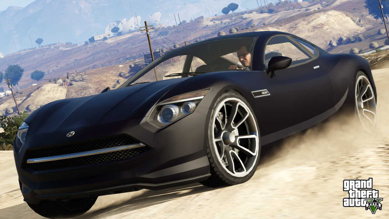 New GTA V screens highlight heists, car chases