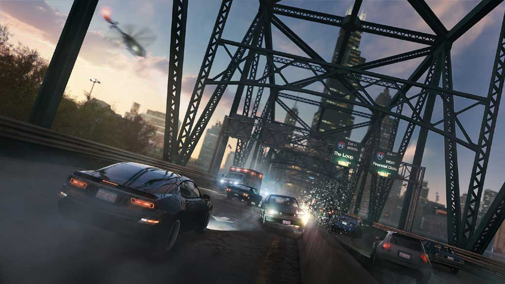 Watch Dogs running on PS4  1