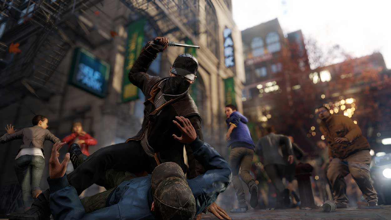 Watch Dogs running on PS4  10
