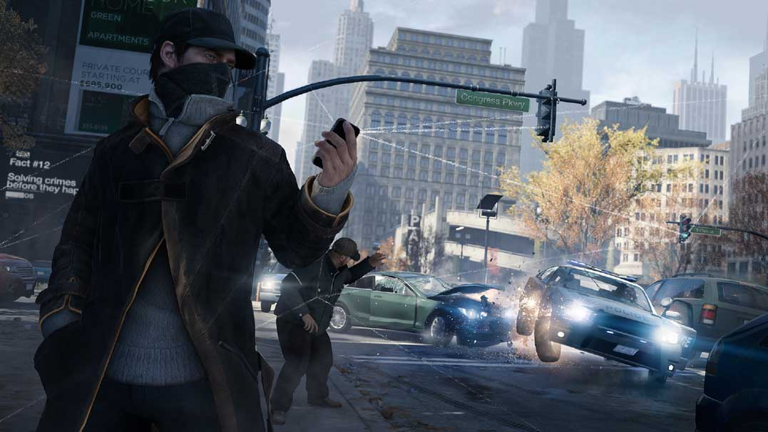 Watch Dogs running on PS4  3