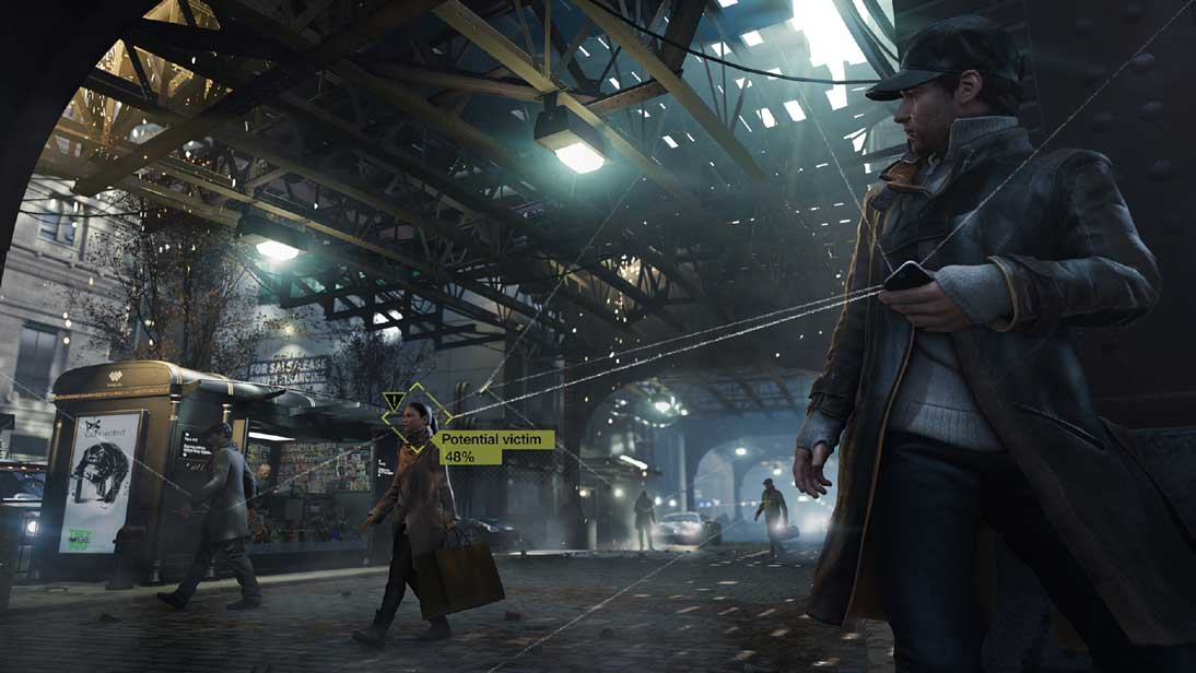 Watch Dogs running on PS4  4
