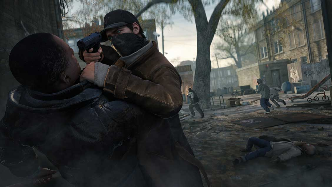 Watch Dogs running on PS4  6