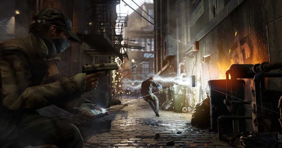 Watch Dogs running on PS4  7