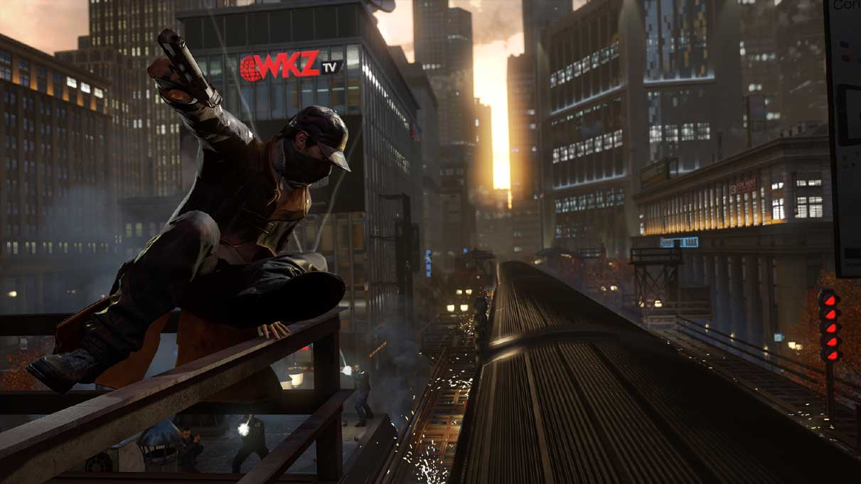 Watch Dogs running on PS4  8