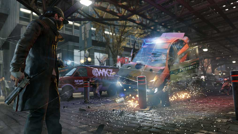 Watch Dogs running on PS4  9
