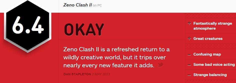 ZENO CLASH 2 ביקורת IGN