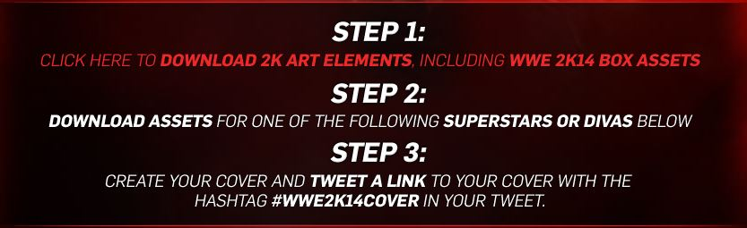 Alternate cover art contest for WWE 2K14