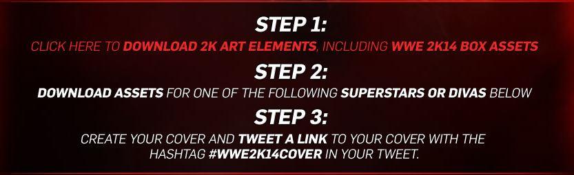 Alternate cover art contest for WWE 2K14