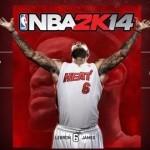 NBA 2K14 תאריך היציאה והפלטפורמות הוכרזו. לברון ג'יימס נבחר לככב על העטיפה