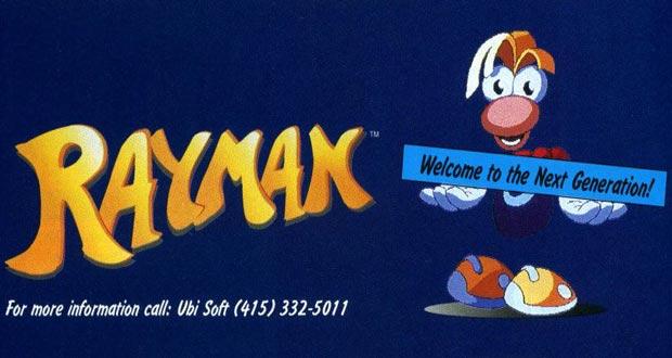 RAYMAN-1995-NEXT-GENERATION