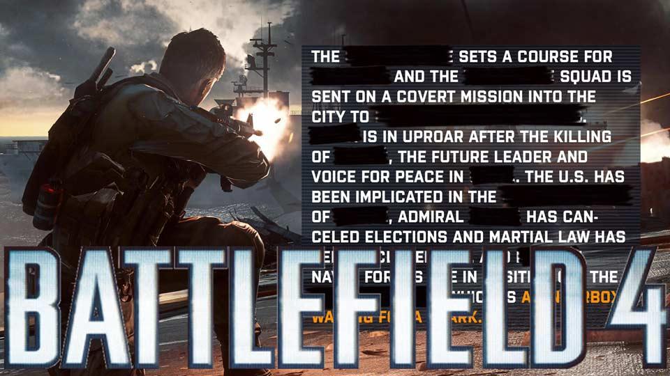באטלפילד-4-עלילה-קמפיין
