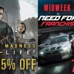 מבצעי אמצע שבוע בסטים: NFS: Hot Pursuit ב-6 דולר ו- Half-Life 2 ב- 2.5 דולר.