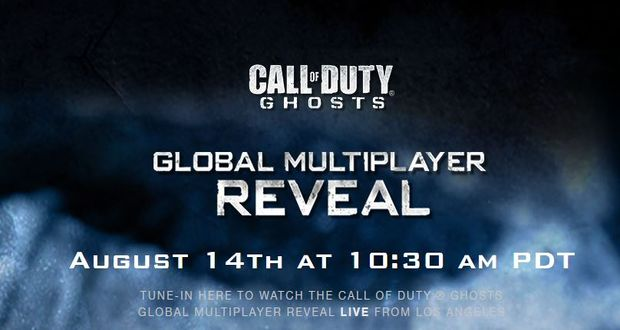 Call of Duty Ghosts Multiplayer Reveal on August 14