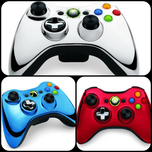 Chrome-Series--Xbox-360-controllers