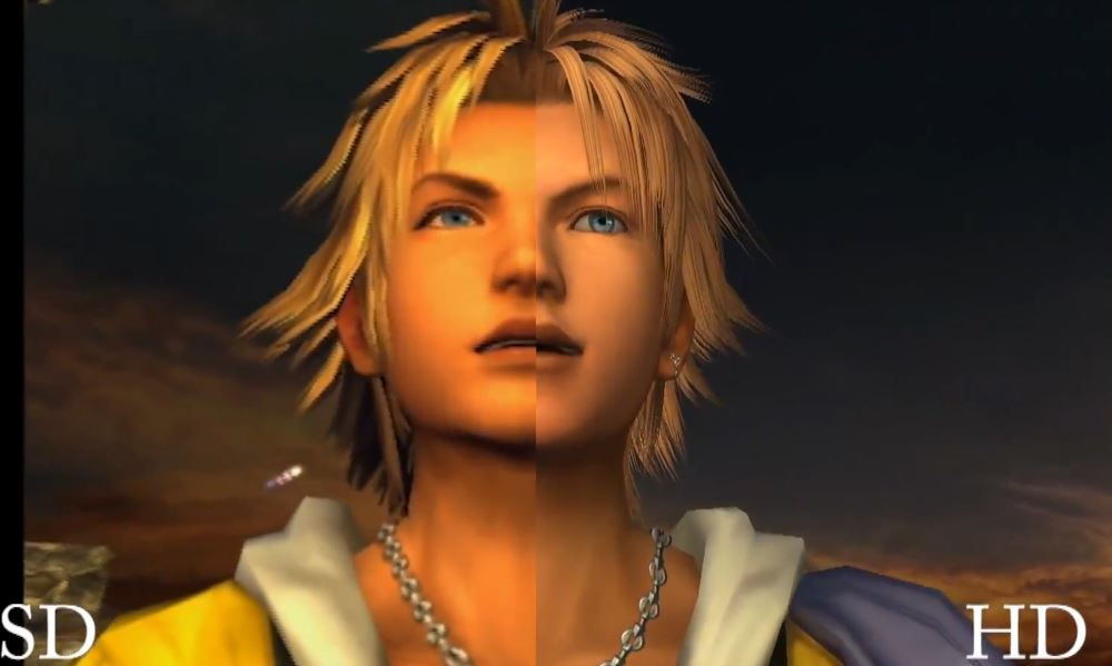 Final Fantasy 10 HD comparison