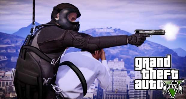GTA5-נשקים